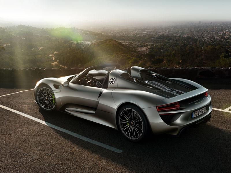Был выпущен последний экземпляр спорткара Porsche 918 Spyder « www ...